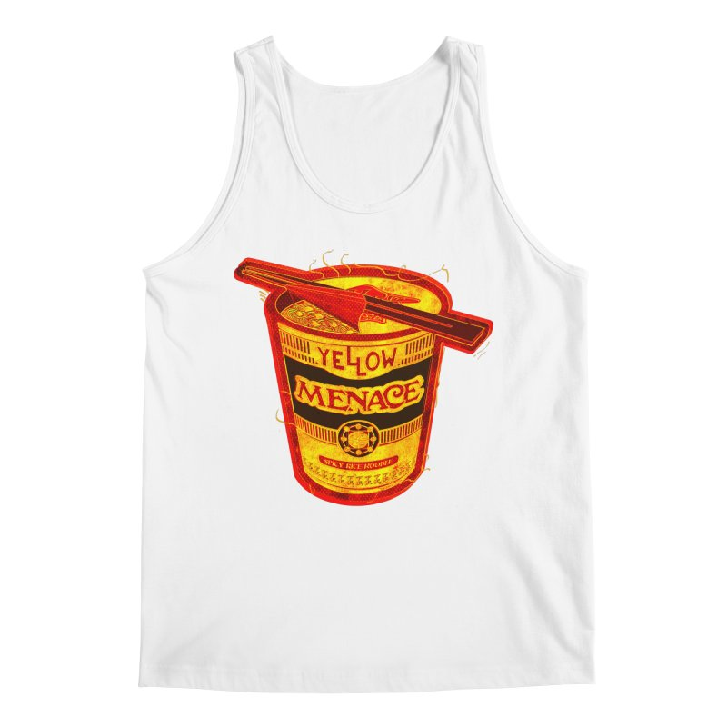 YM Noodles: Chinese Takeout Men's Tank by YellowMenace Shop