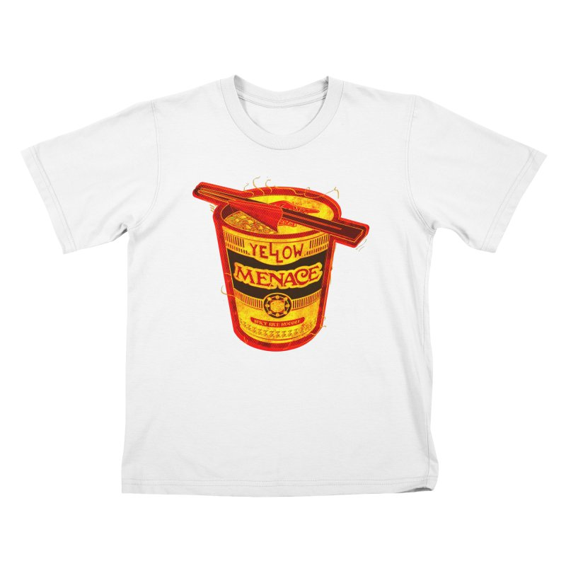 YM Noodles: Chinese Takeout Kids T-Shirt by YellowMenace Shop