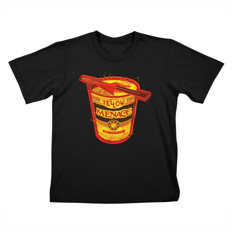 YM Noodles: Chinese Takeout Kids T-Shirt by YellowMenace Shop