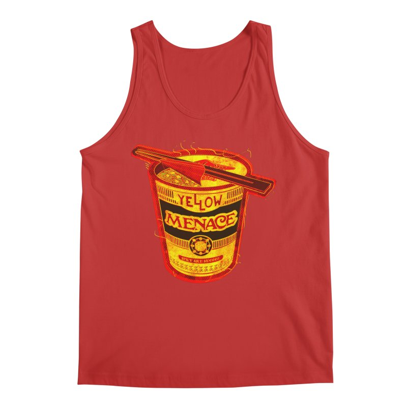 YM Noodles: Chinese Takeout Men's Regular Tank by YellowMenace Shop