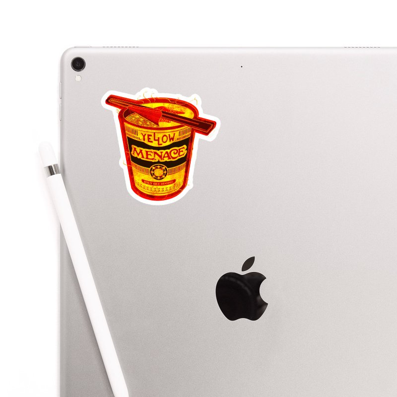 YM Noodles: Chinese Takeout Accessories Sticker by YellowMenace Shop
