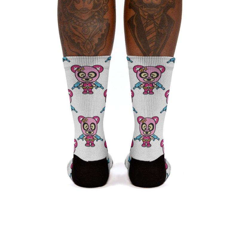 Wasteland Panda (girl) Women's Socks by The Yellowrant Artist Shop