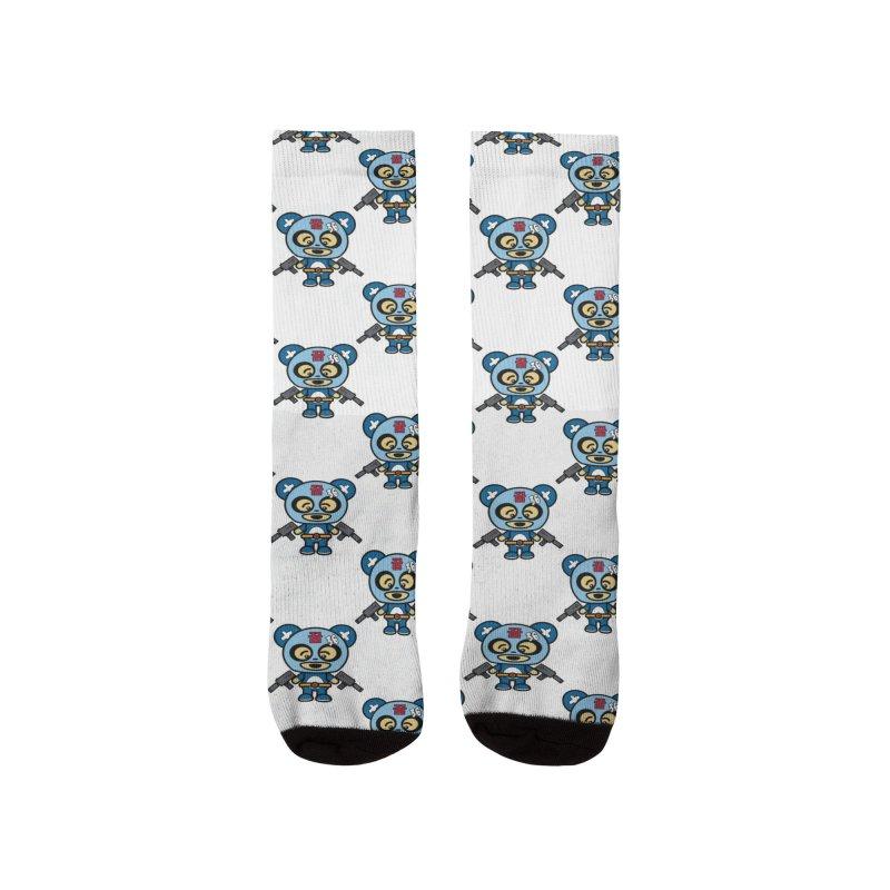 Wasteland Panda (boy) Women's Socks by The Yellowrant Artist Shop