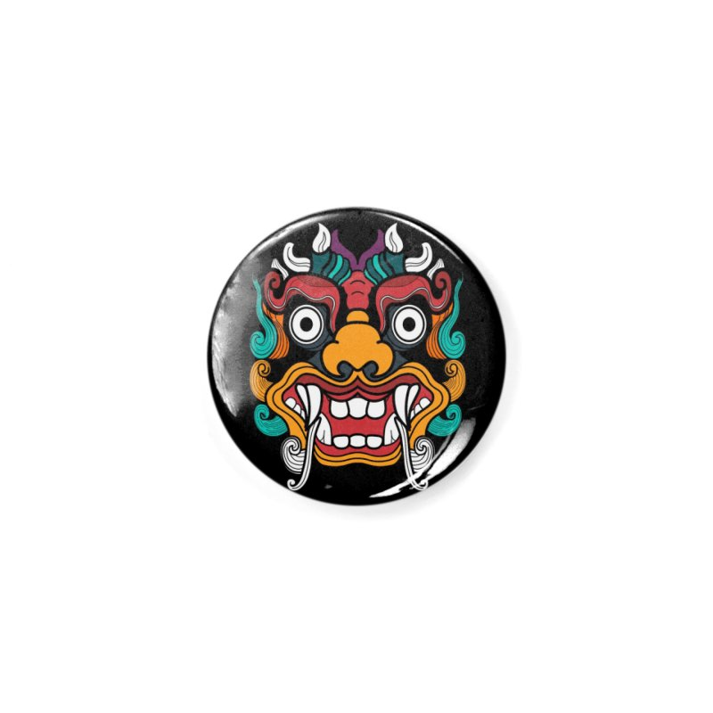 Demon Love Accessories Button by The Yellowrant Artist Shop