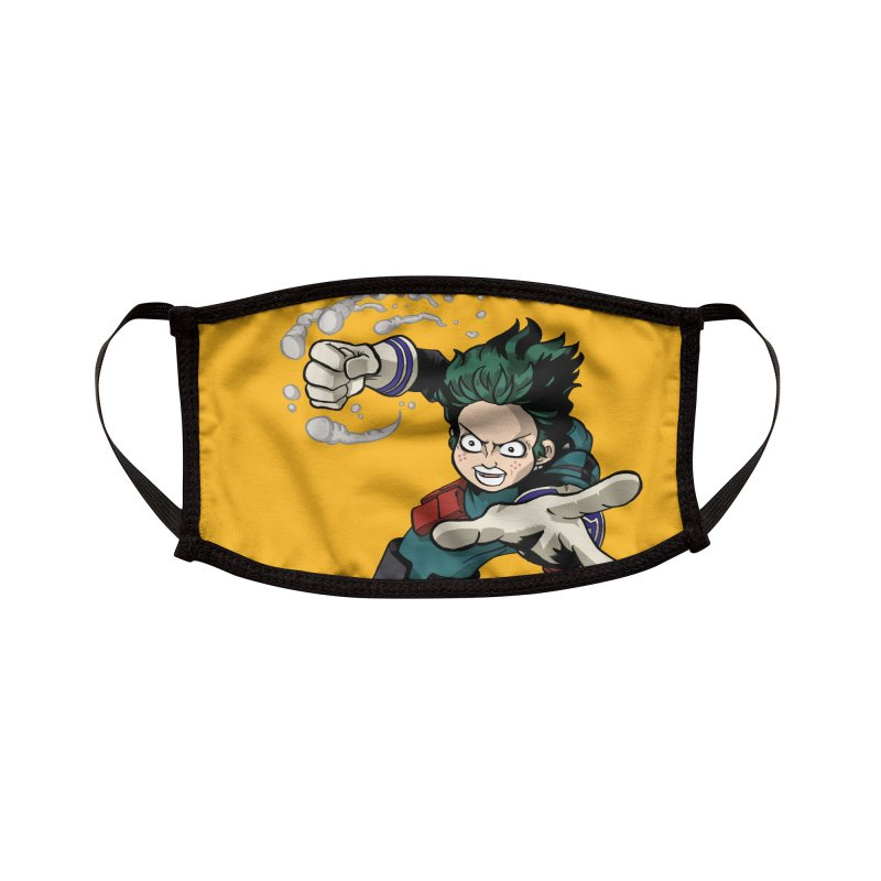 Plus Ultra Accessories Face Mask by The Yellowrant Artist Shop