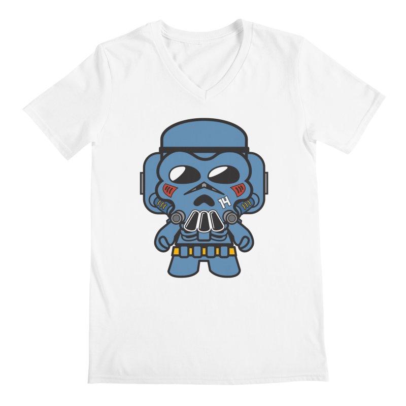 Skulltrooper (Gypsy Mecha) Men's V-Neck by The Yellowrant Artist Shop