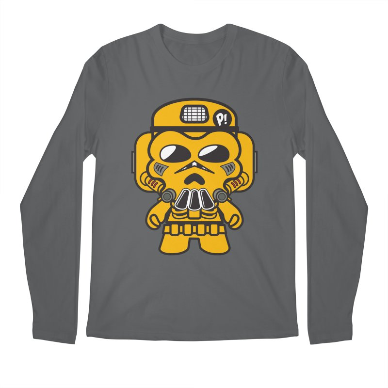 Skulltrooper (Otaku Trooper) Men's Longsleeve T-Shirt by The Yellowrant Artist Shop