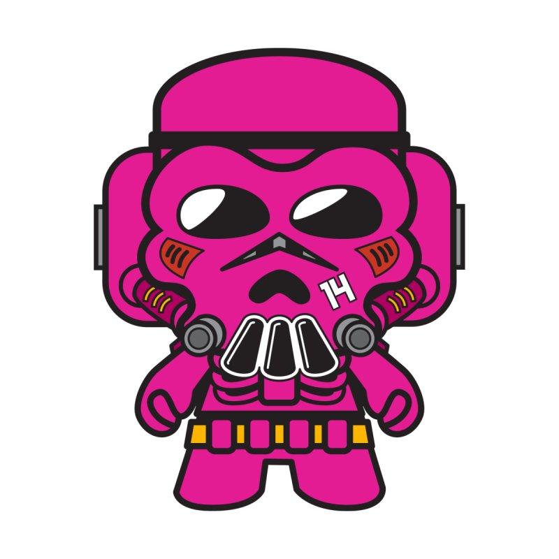 Skulltrooper (Pink Mecha) Kids Baby T-Shirt by The Yellowrant Artist Shop