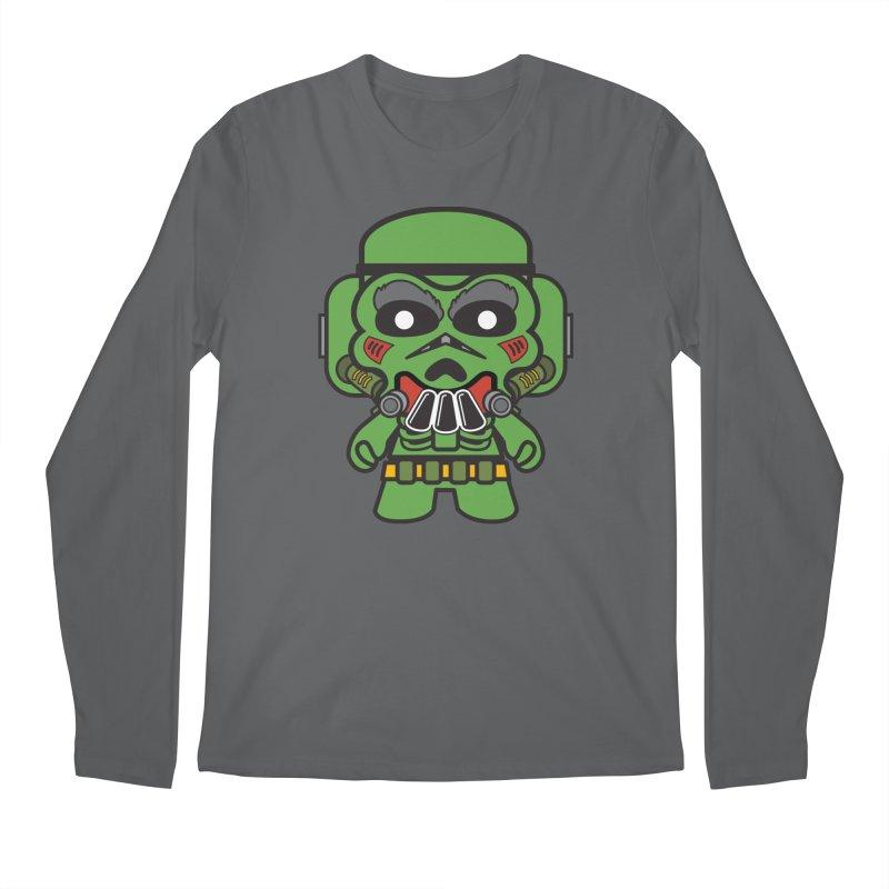 Skulltrooper (SMASH Trooper) Men's Longsleeve T-Shirt by The Yellowrant Artist Shop