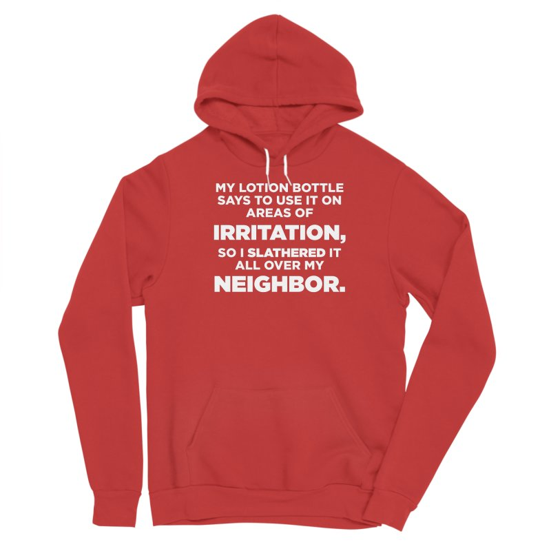 Lotion Remedy Women's Pullover Hoody by The Yellowrant Artist Shop