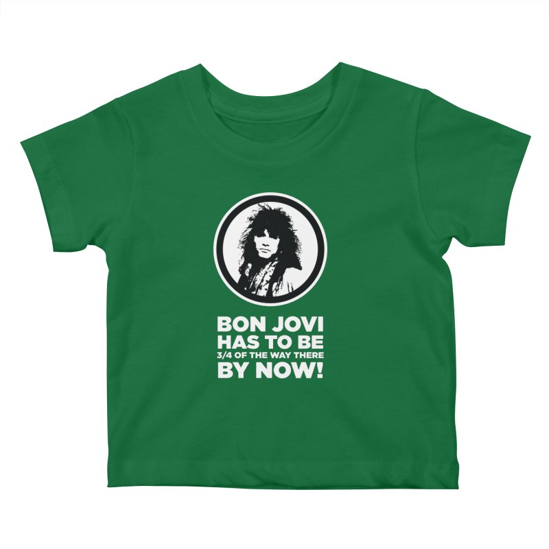 Almost There? Kids Baby T-Shirt by The Yellowrant Artist Shop