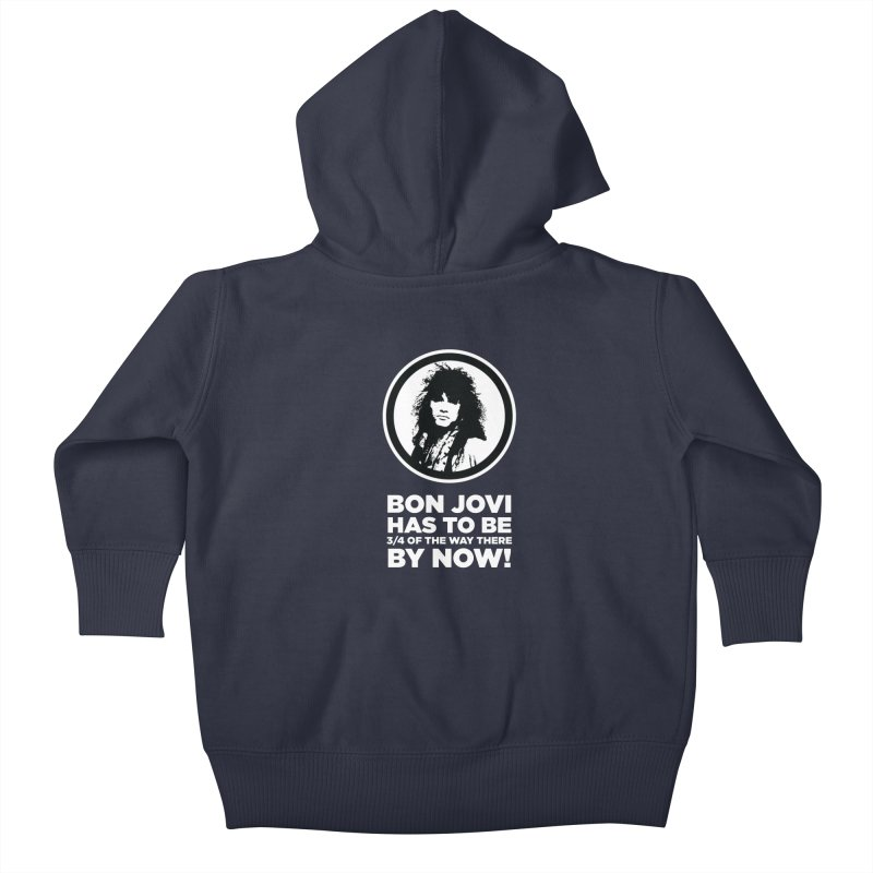 Almost There? Kids Baby Zip-Up Hoody by The Yellowrant Artist Shop