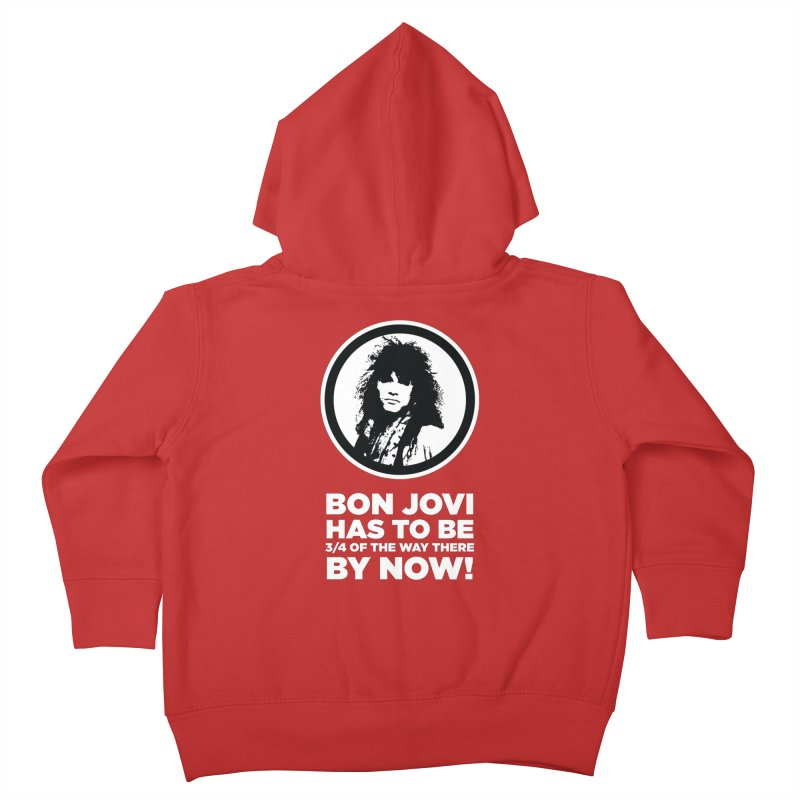 Almost There? Kids Toddler Zip-Up Hoody by The Yellowrant Artist Shop