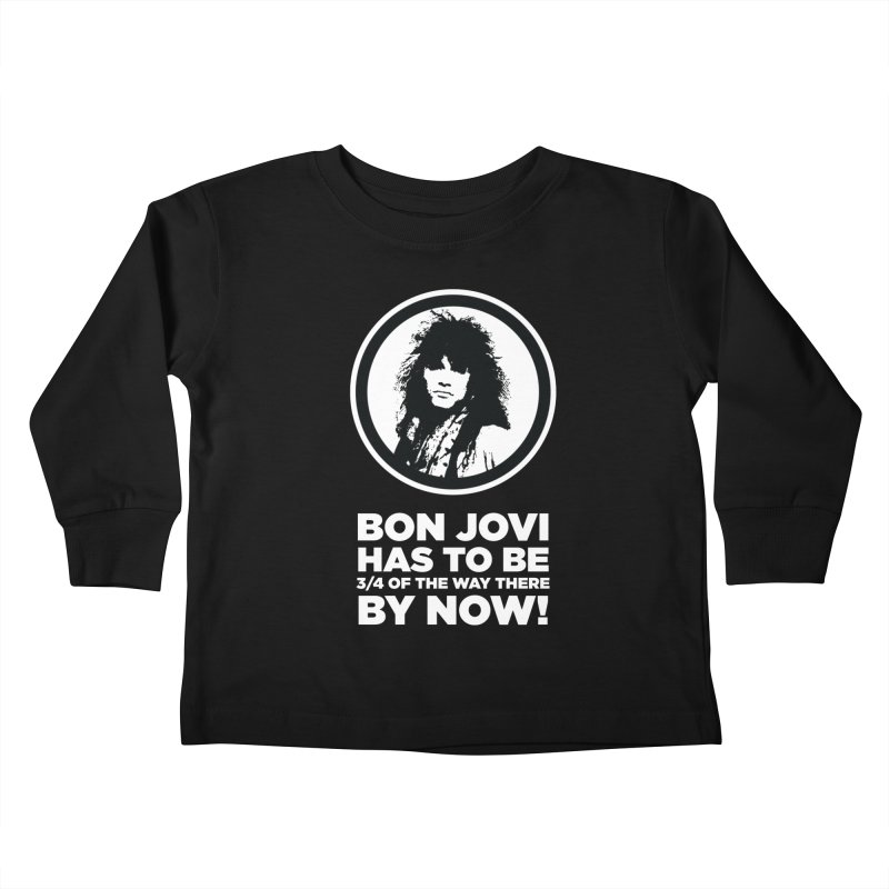 Almost There? Kids Toddler Longsleeve T-Shirt by The Yellowrant Artist Shop