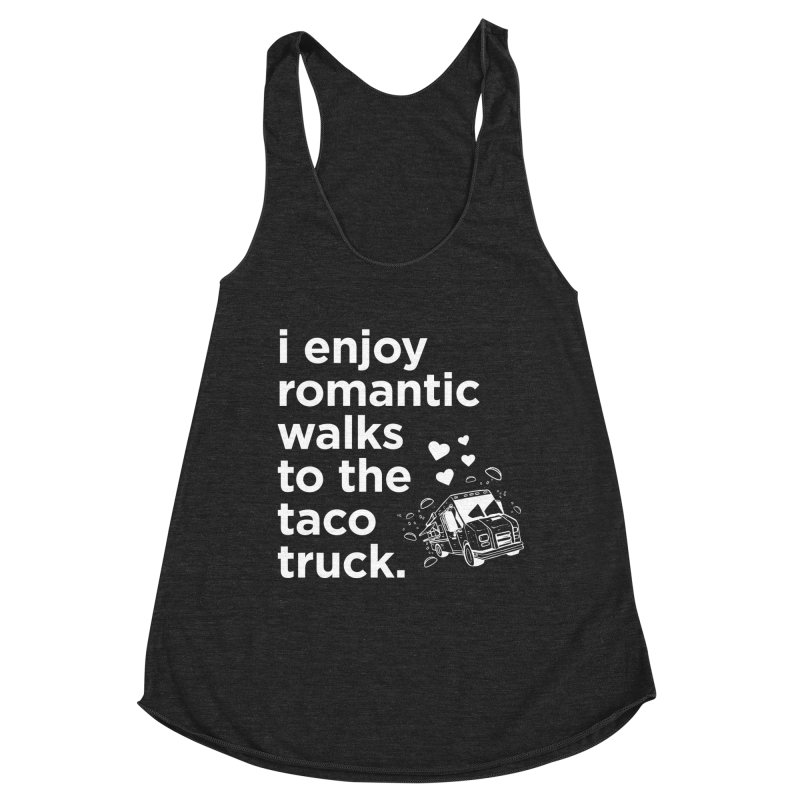 Taco Love (white) Women's Tank by The Yellowrant Artist Shop