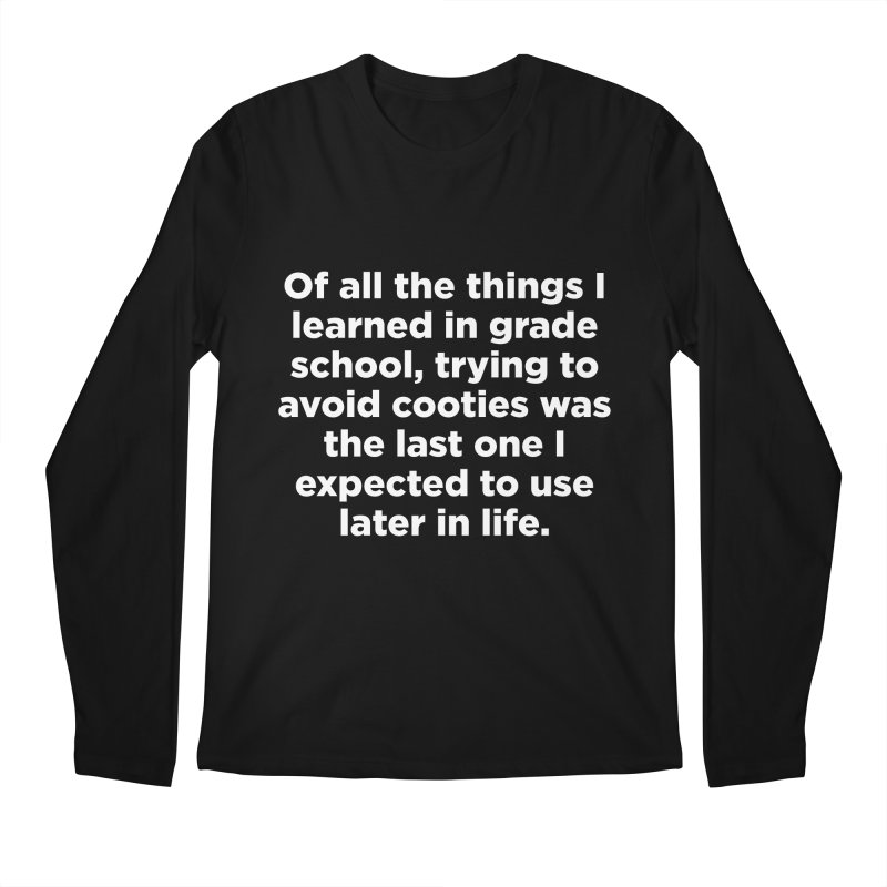 Cooties Lesson Men's Longsleeve T-Shirt by The Yellowrant Artist Shop