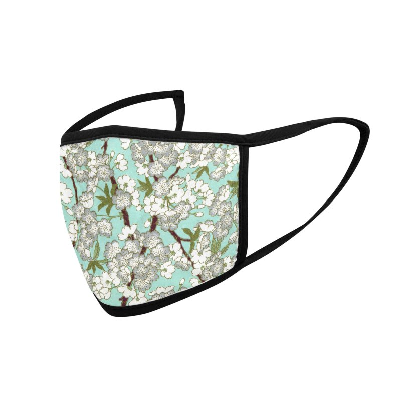 Flower Love Accessories Face Mask by The Yellowrant Artist Shop
