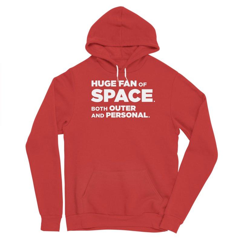 Space Fan Women's Pullover Hoody by The Yellowrant Artist Shop