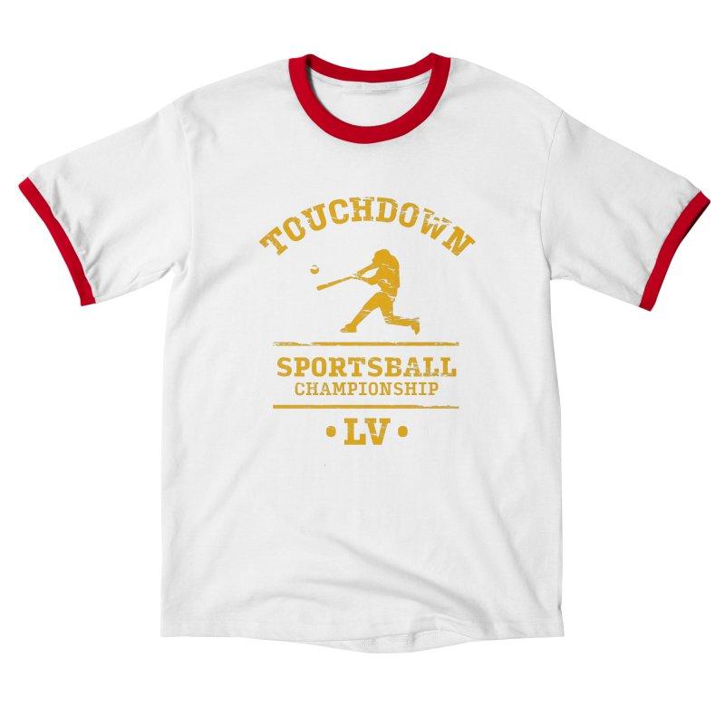Sportsball Men's T-Shirt by The Yellowrant Artist Shop