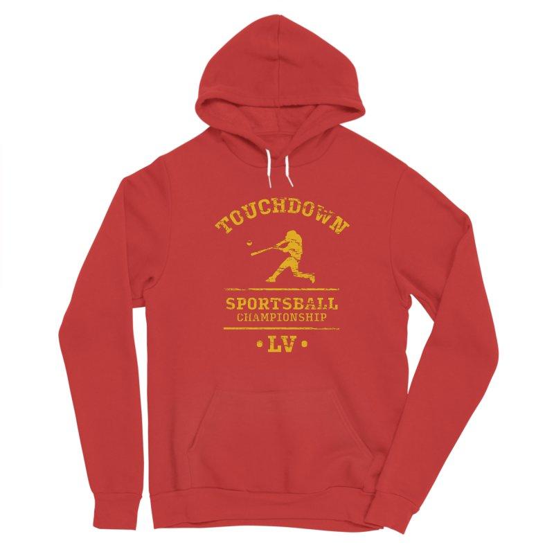 Sportsball Women's Pullover Hoody by The Yellowrant Artist Shop