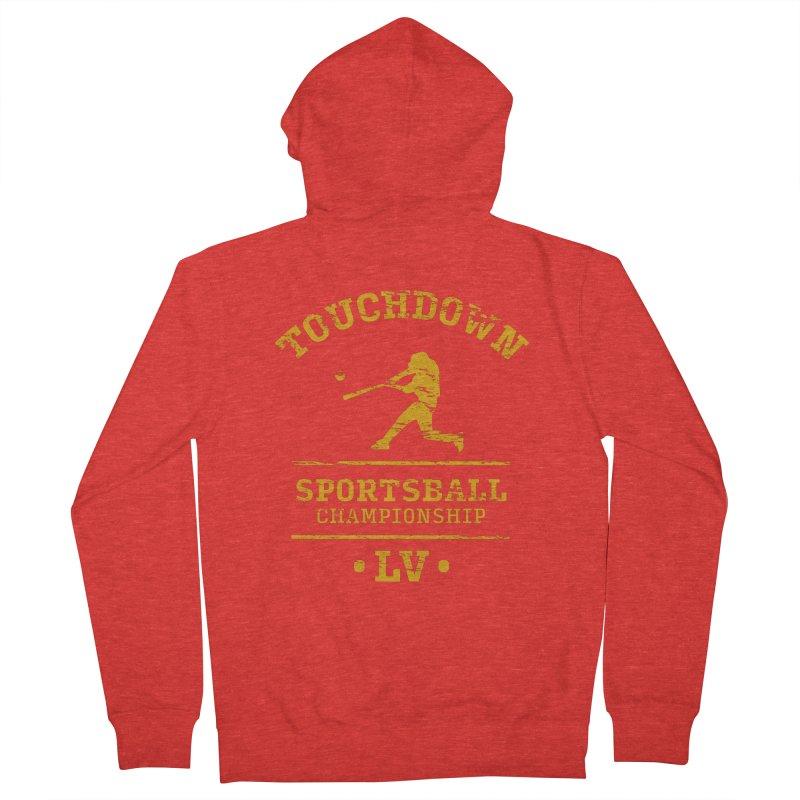 Sportsball Women's Zip-Up Hoody by The Yellowrant Artist Shop