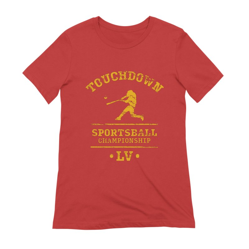 Sportsball Women's T-Shirt by The Yellowrant Artist Shop