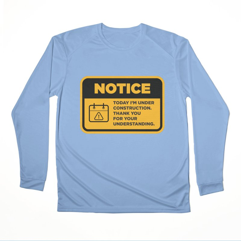 Under Construction Men's Longsleeve T-Shirt by The Yellowrant Artist Shop