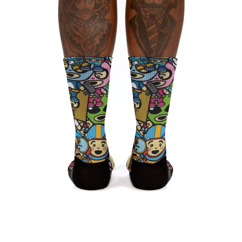 Cosplay Love Women's Socks by The Yellowrant Artist Shop