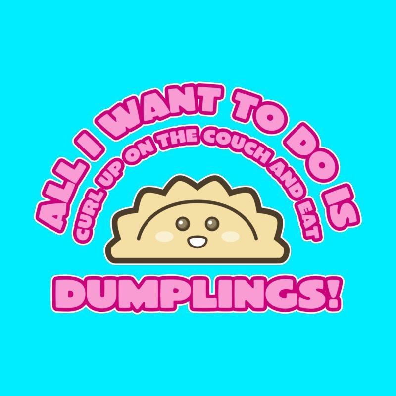 Dumpling Curl Men's Sweatshirt by The Yellowrant Artist Shop