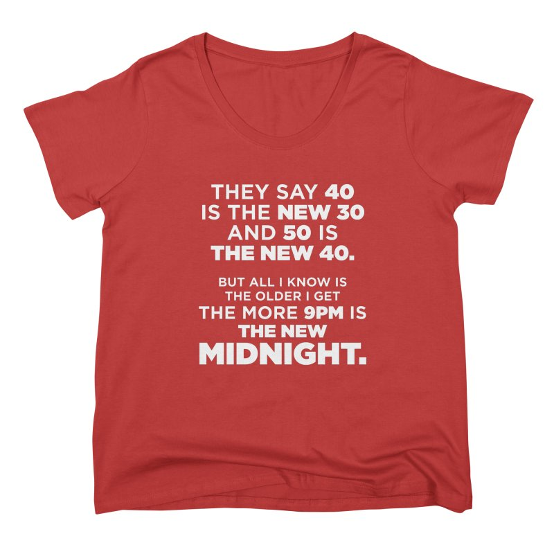Getting Older Women's Scoop Neck by The Yellowrant Artist Shop