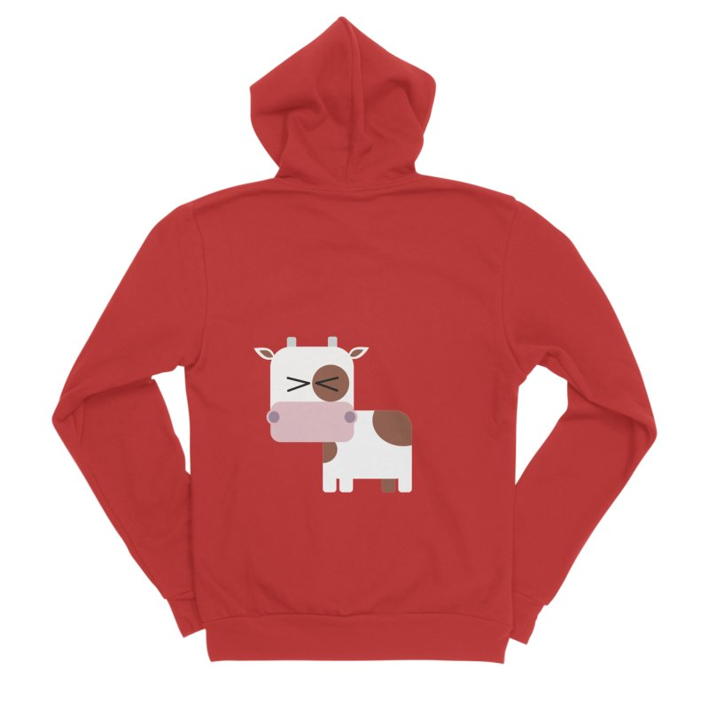 Little cow Men's Zip-Up Hoody by Yellow Studio · the Shop!