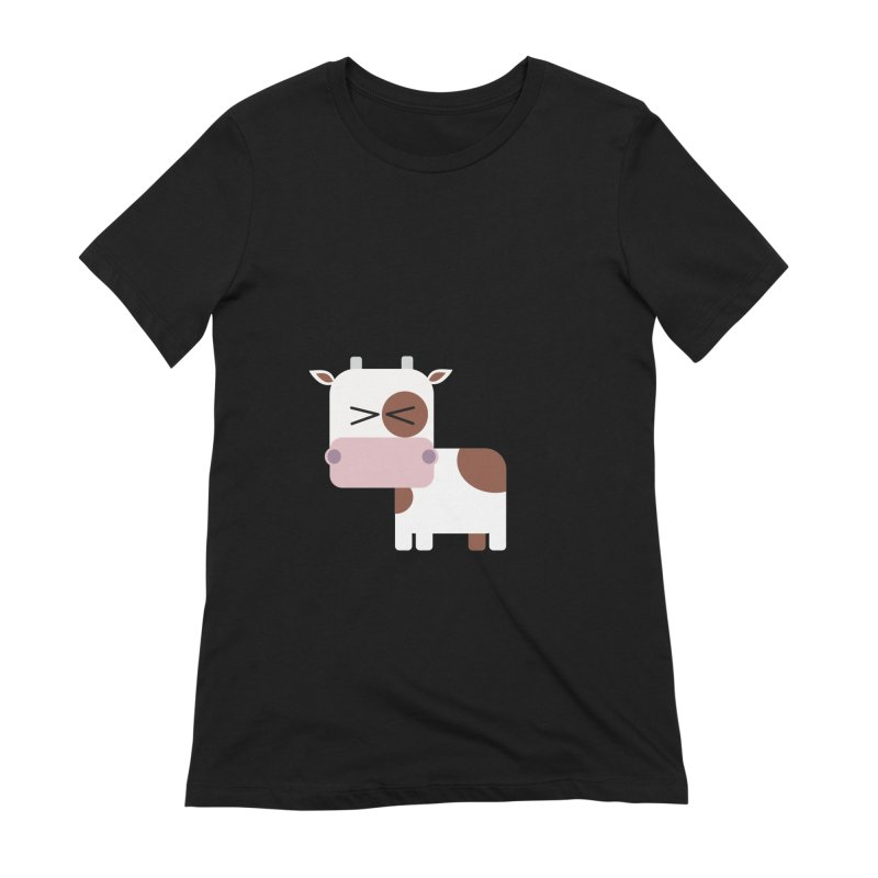 Little cow Women's Extra Soft T-Shirt by Yellow Studio · the Shop!