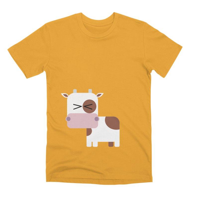 Little cow Men's Premium T-Shirt by Yellow Studio · the Shop!
