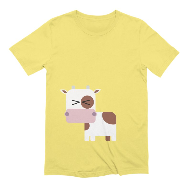 Little cow Men's Extra Soft T-Shirt by Yellow Studio · the Shop!