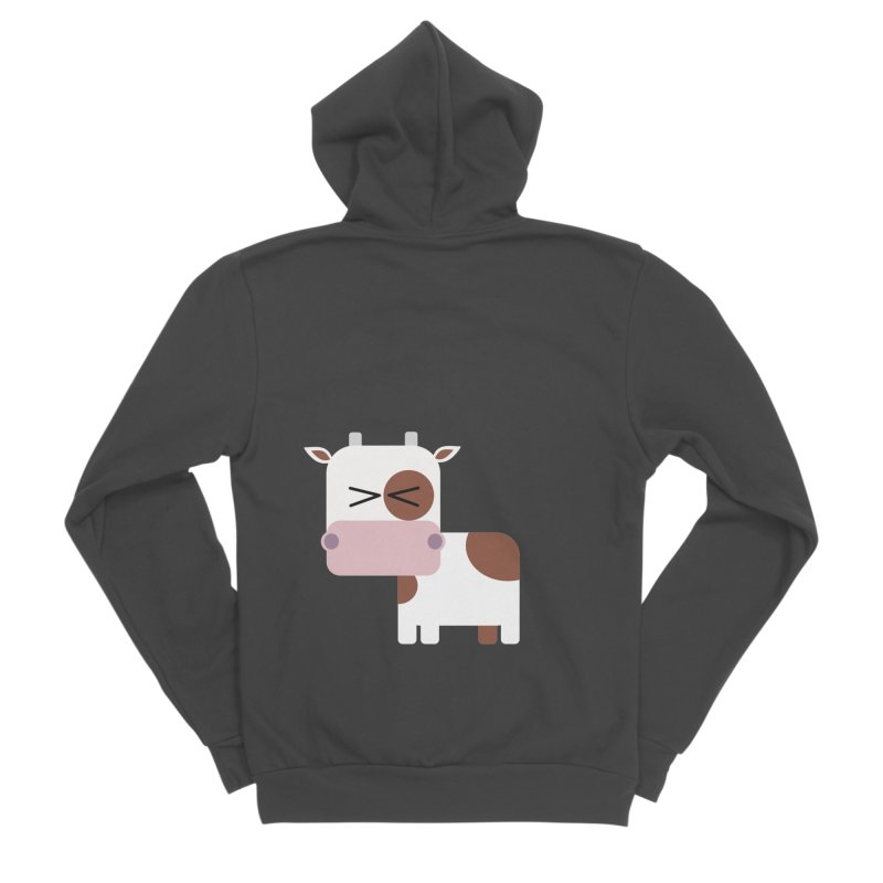 Little cow Men's Sponge Fleece Zip-Up Hoody by Yellow Studio · the Shop!