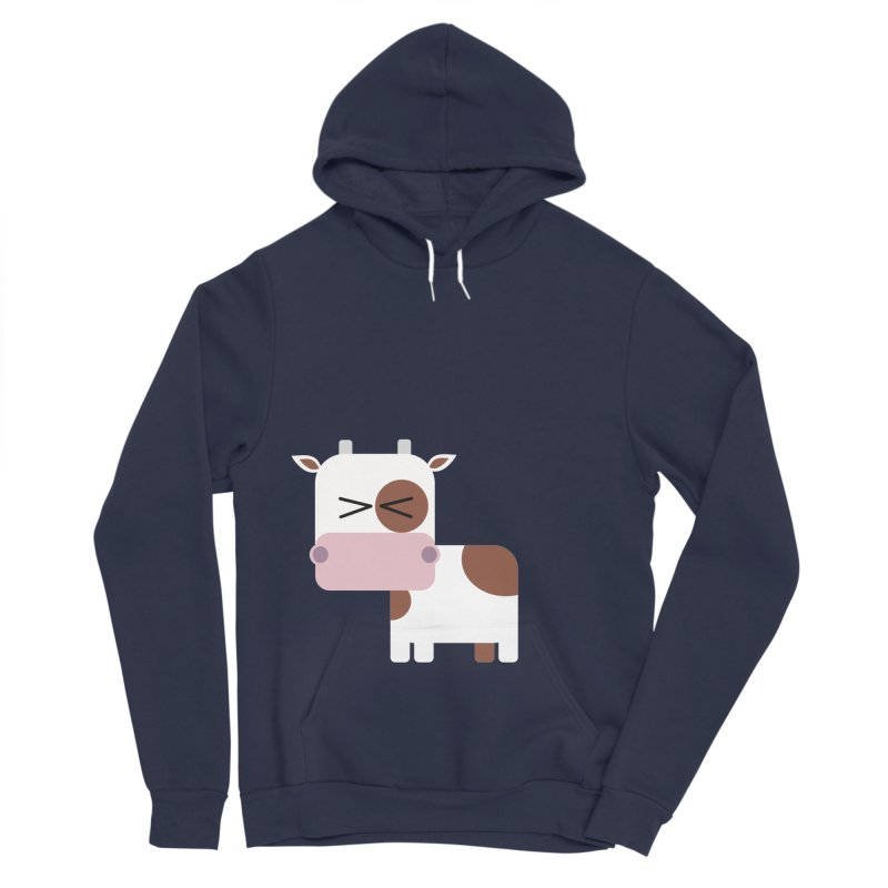 Little cow Women's Sponge Fleece Pullover Hoody by Yellow Studio · the Shop!