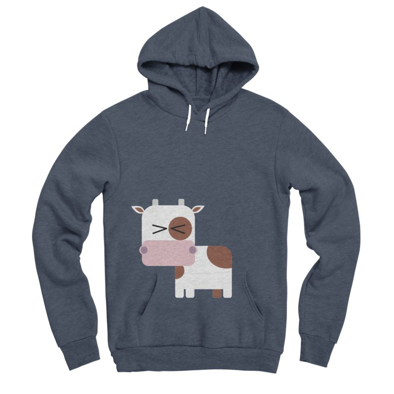 Little cow Men's Sponge Fleece Pullover Hoody by Yellow Studio · the Shop!