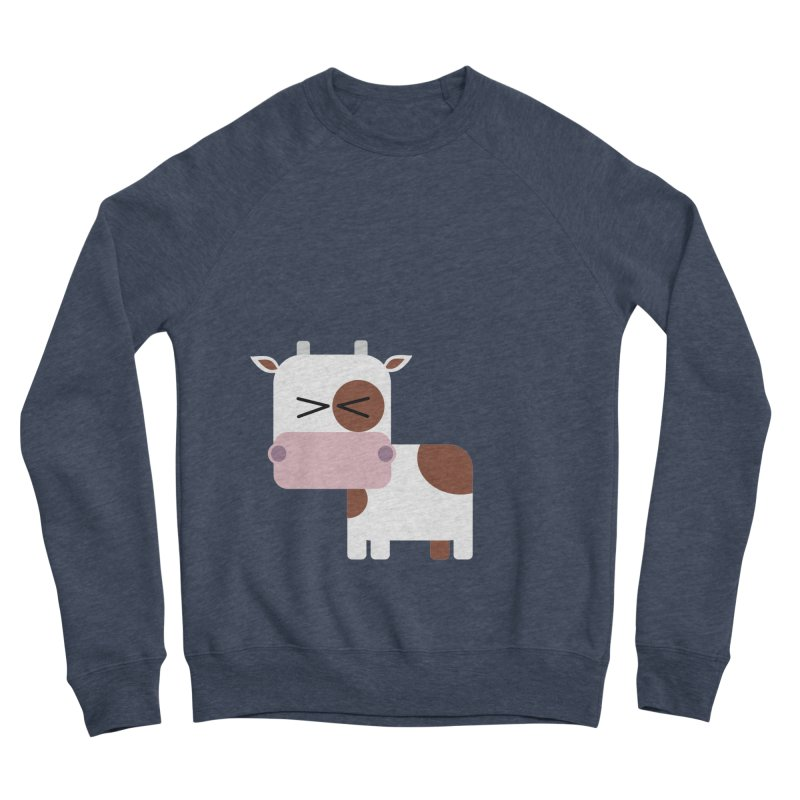 Little cow Women's Sponge Fleece Sweatshirt by Yellow Studio · the Shop!