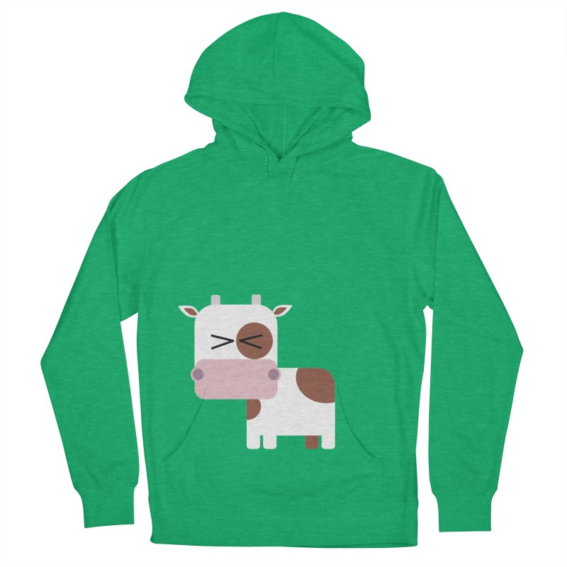 Little cow Women's French Terry Pullover Hoody by Yellow Studio · the Shop!