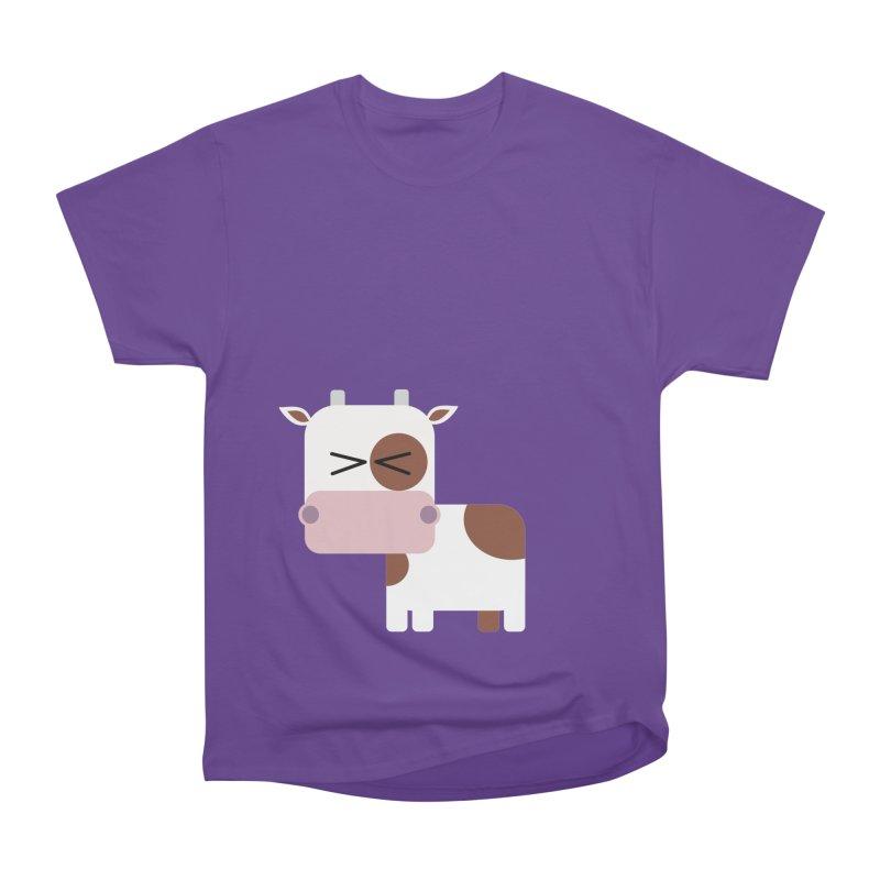 Little cow Men's Heavyweight T-Shirt by Yellow Studio · the Shop!