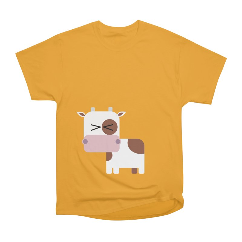 Little cow Men's Heavyweight T-Shirt by Yellow Studio · the Shop!