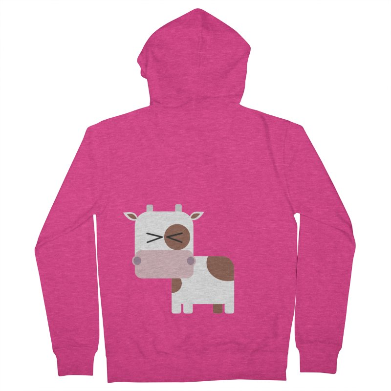 Little cow Women's French Terry Zip-Up Hoody by Yellow Studio · the Shop!