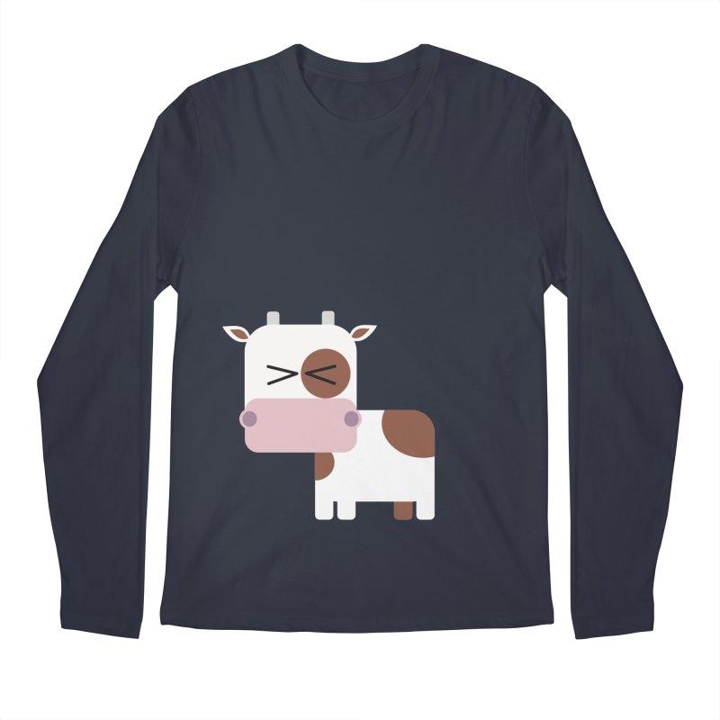 Little cow Men's Regular Longsleeve T-Shirt by Yellow Studio · the Shop!