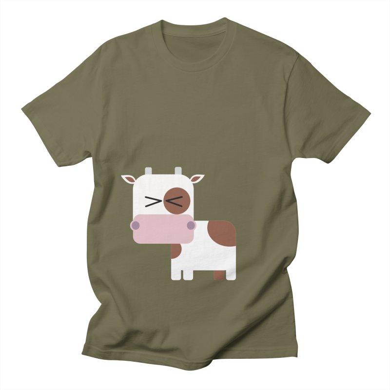 Little cow Women's Regular Unisex T-Shirt by Yellow Studio · the Shop!