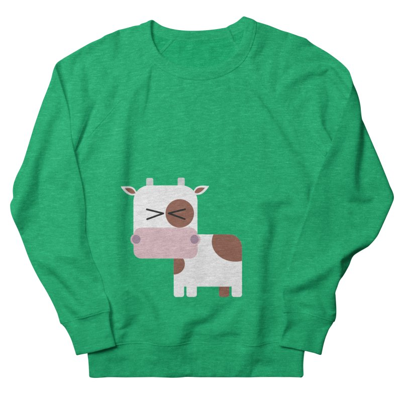 Little cow Women's French Terry Sweatshirt by Yellow Studio · the Shop!