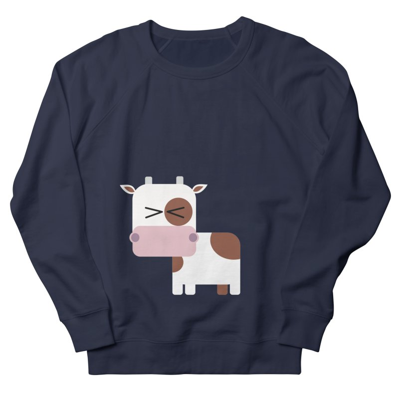 Little cow Men's French Terry Sweatshirt by Yellow Studio · the Shop!