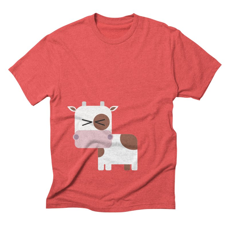 Little cow Men's Triblend T-Shirt by Yellow Studio · the Shop!