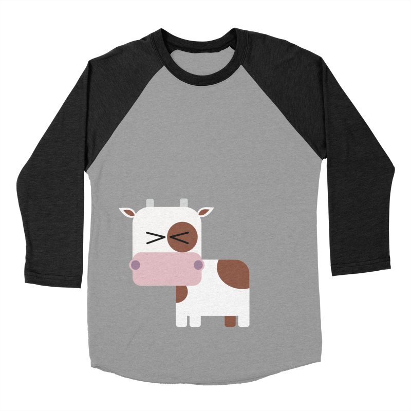 Little cow Women's Baseball Triblend Longsleeve T-Shirt by Yellow Studio · the Shop!