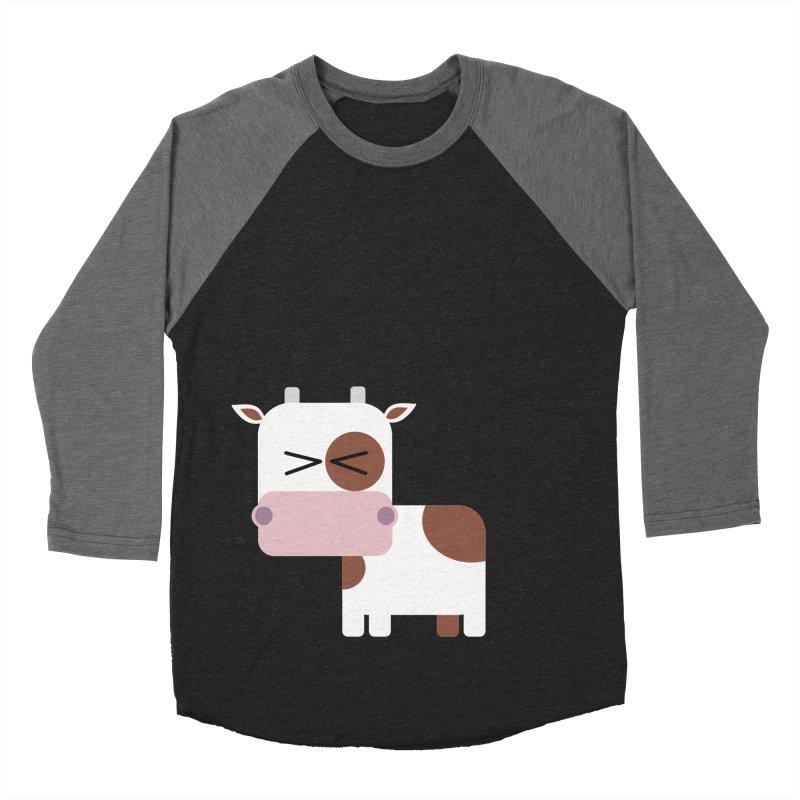 Little cow Men's Baseball Triblend Longsleeve T-Shirt by Yellow Studio · the Shop!