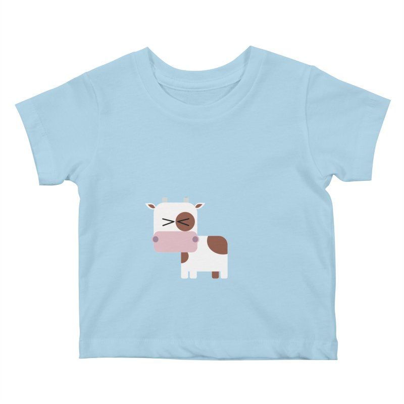 Little cow Kids Baby T-Shirt by Yellow Studio · the Shop!
